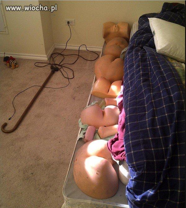 A ty co trzymasz pod swoim łóżkiem?