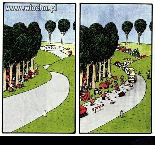 Naprawa dróg w Polsce