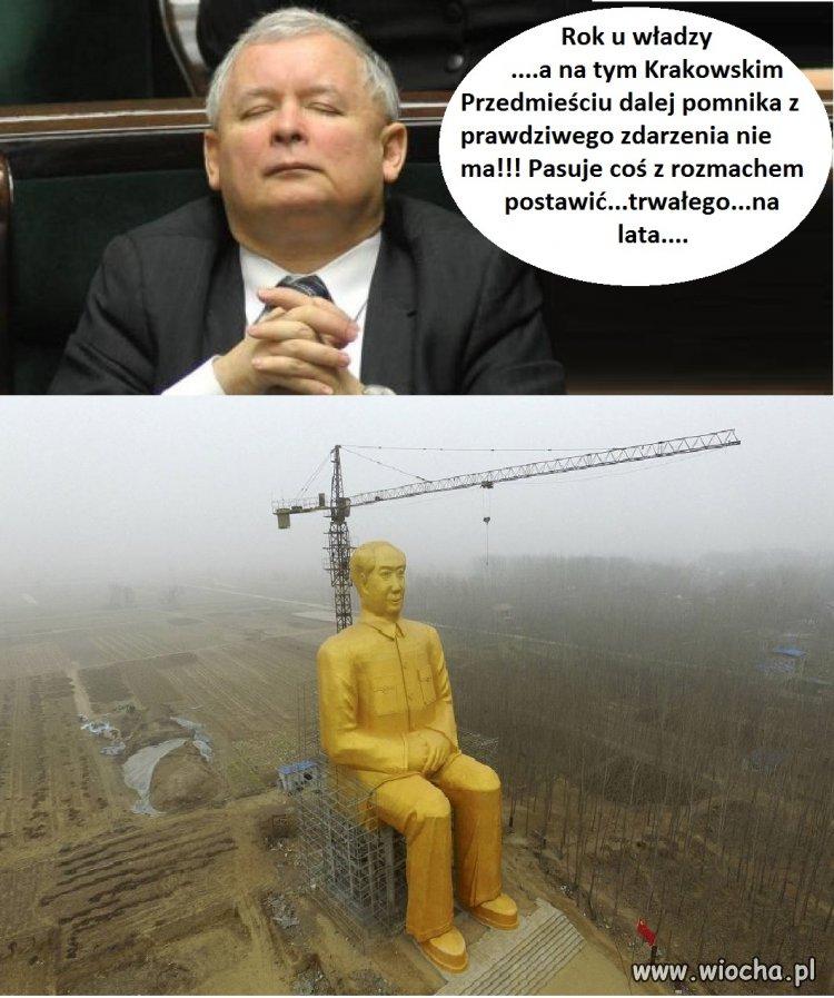 Niespełnione oczekiwania Prezesa