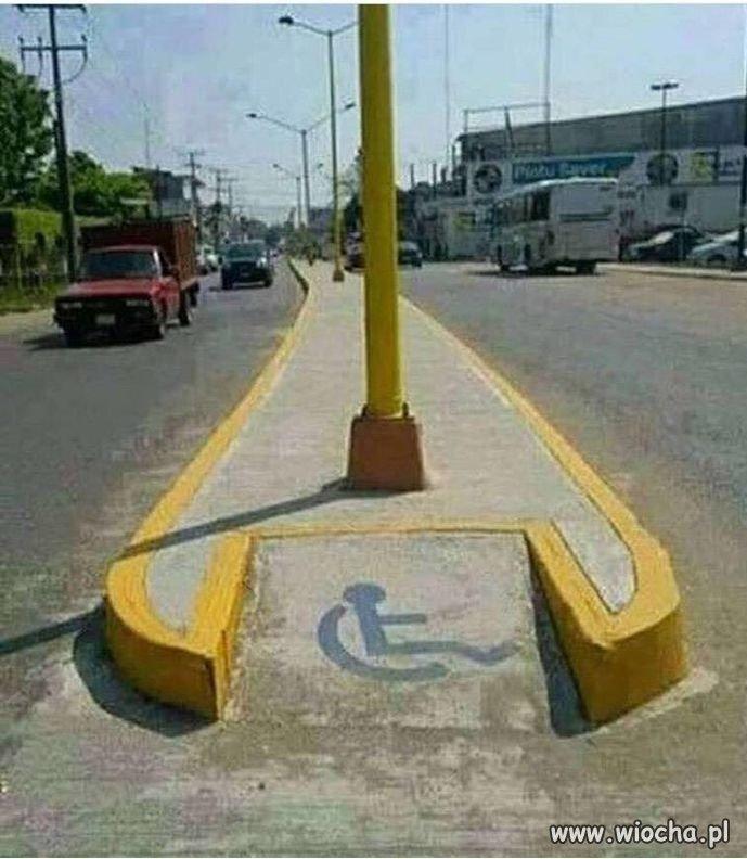 Niepełnosprawni dla niepełnosprawnych