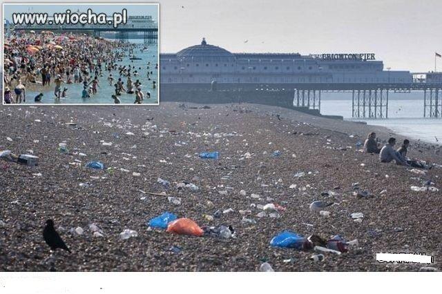 Po nalocie stonki plażowej