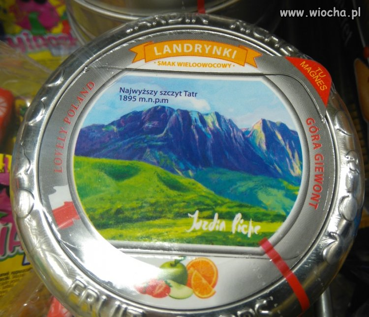 Najwyższy szczyt Tatr wg NETTO