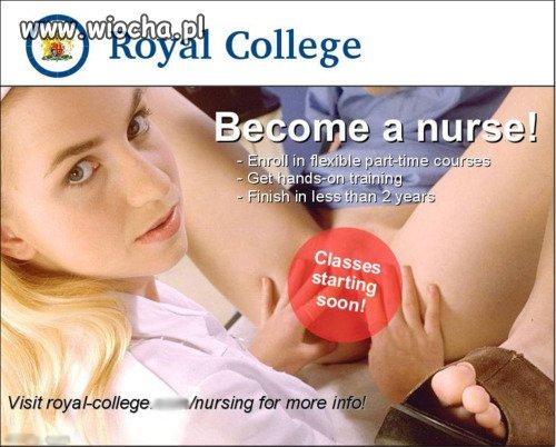 Zostań pielęgniarką!