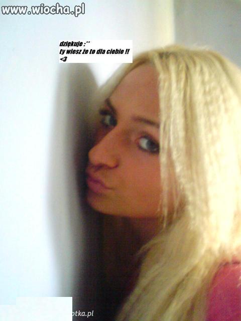 Bo dla blondynki