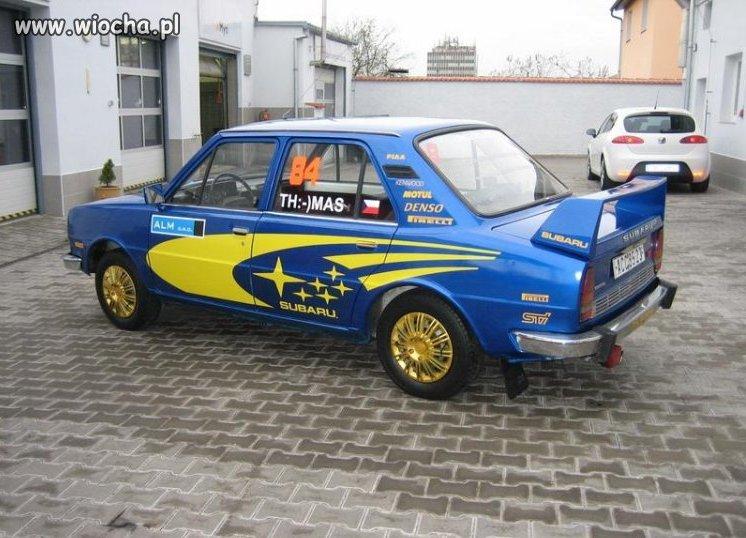 Prawie jak Subaru.