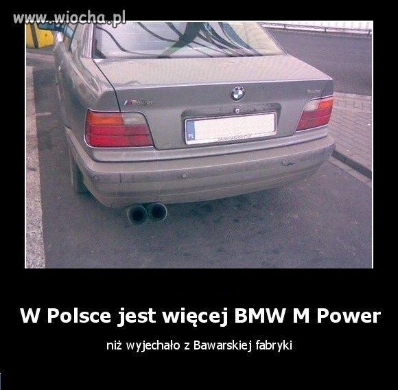 W Polsce jest więcej BMW M Power