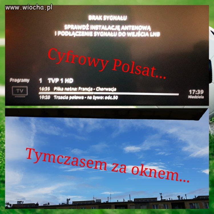 Oglądając Mistrzostwa Świata u polskiego dostawcy.