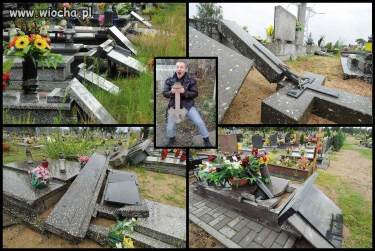 Dewastacja cmentarzy