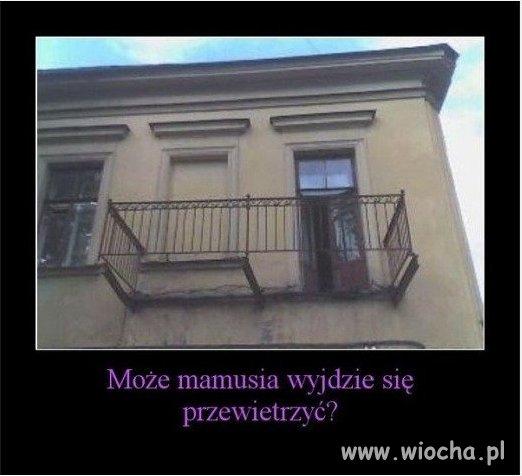 Balkon dla teściowej