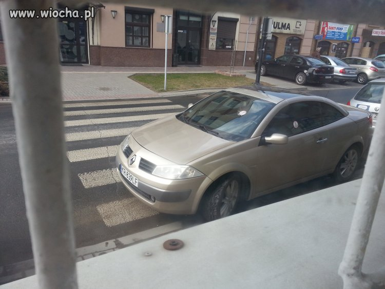 Blond mistrzyni parkowania w Lublinie