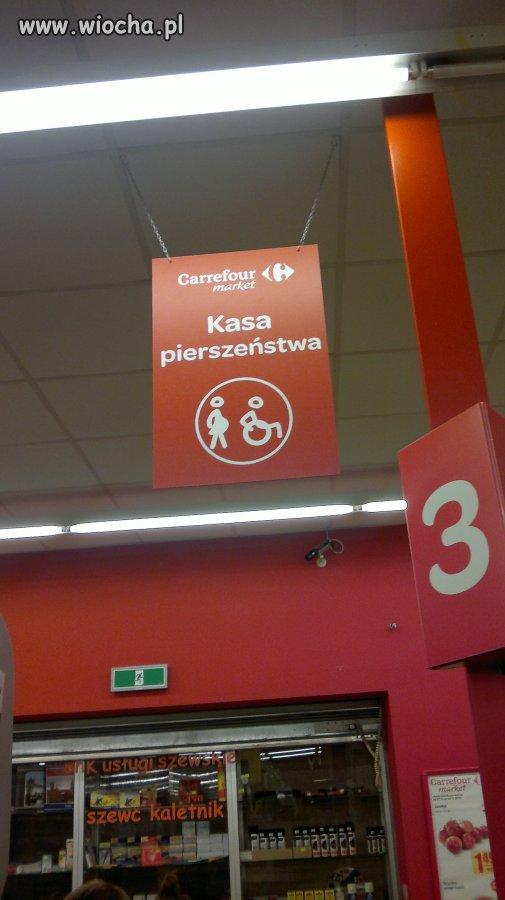 Ortografia w Carrefour Polska