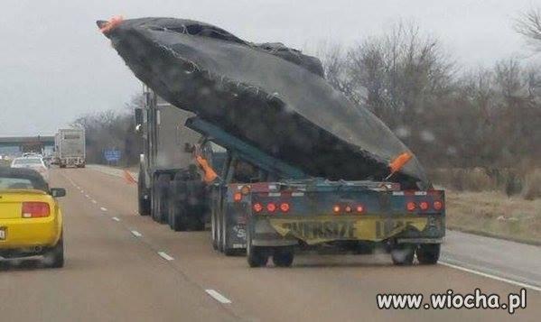 Czyżby złapali UFO