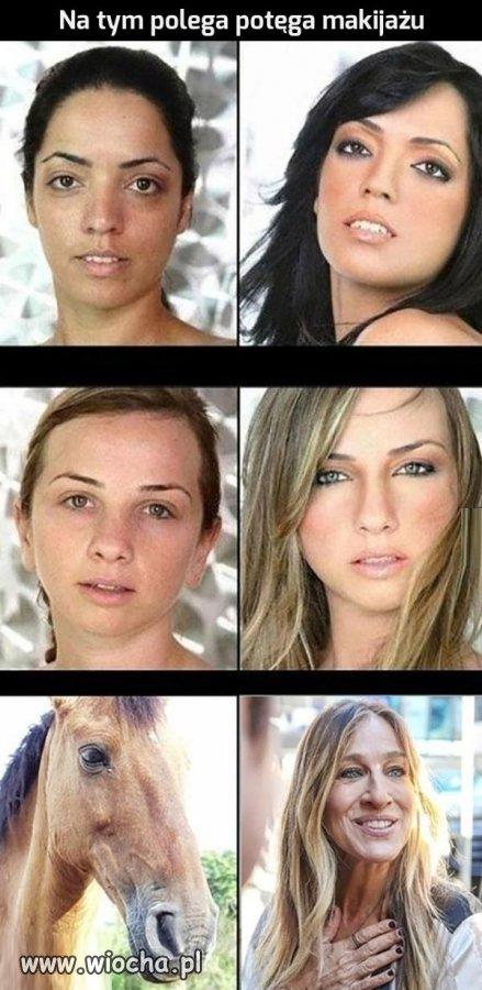 Makijaż zmienia ludzi