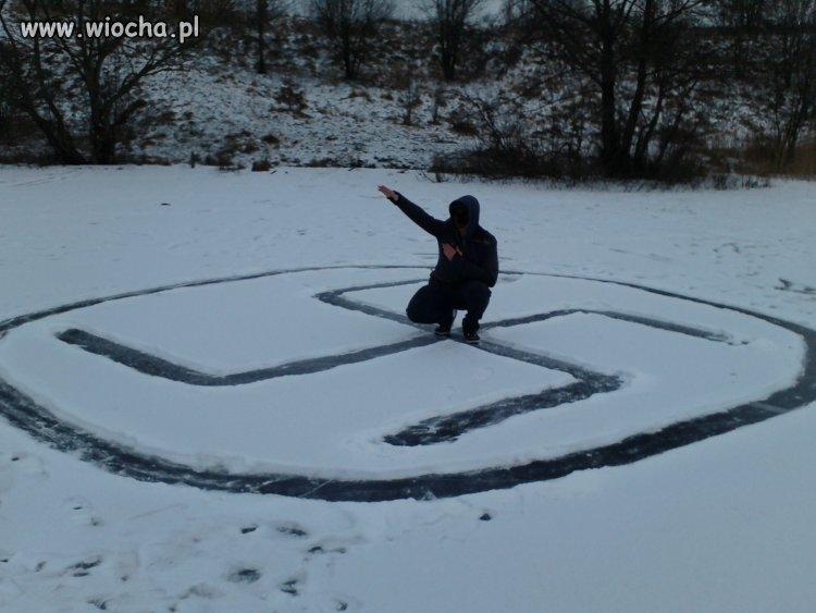 Poj*b w zimę