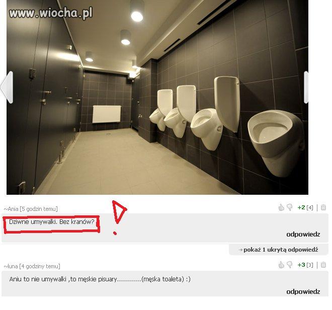 Dziwne umywalki