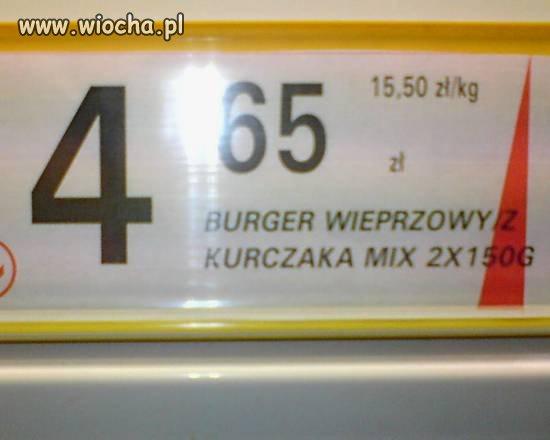 Burger wieprzowy