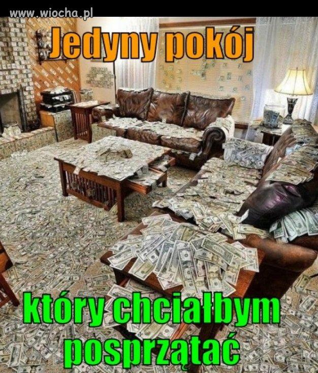 Jedyny pokój, który chciałbym posprzątać…