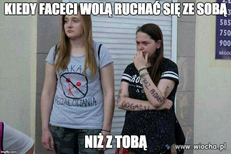 Kobiety przeciwko homoseksualistom