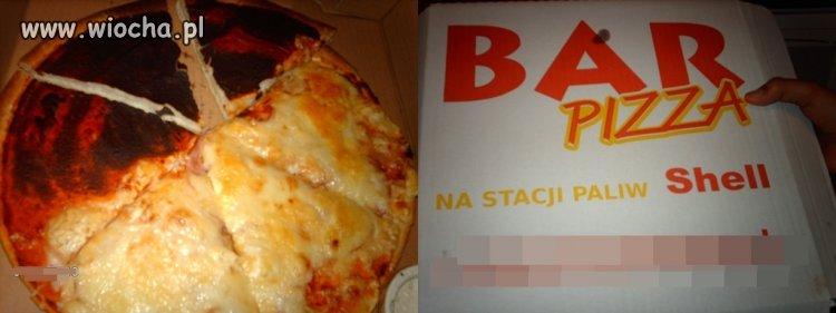 Pizza z Shella dzierżoniów