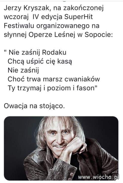 Jerzy Kryszak.