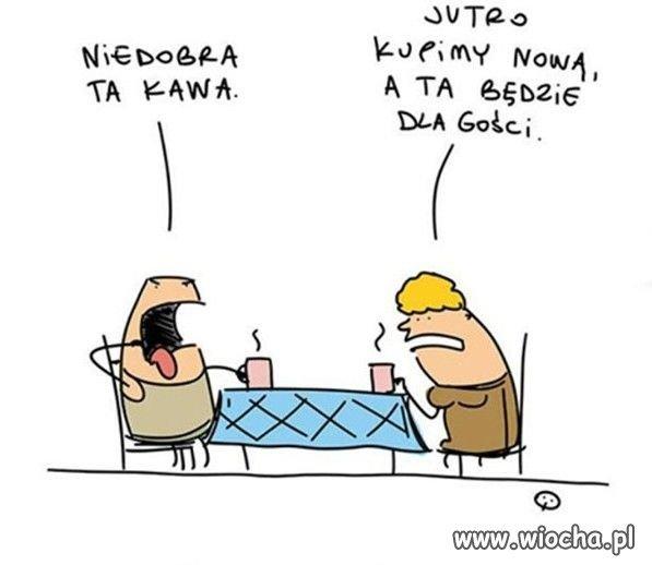 Kawa dla gości