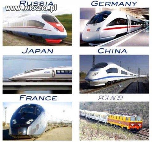Polskie pociągi...