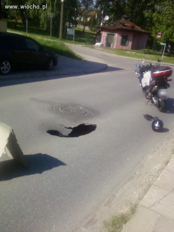 Mała dziurka w centrum Wieliczki