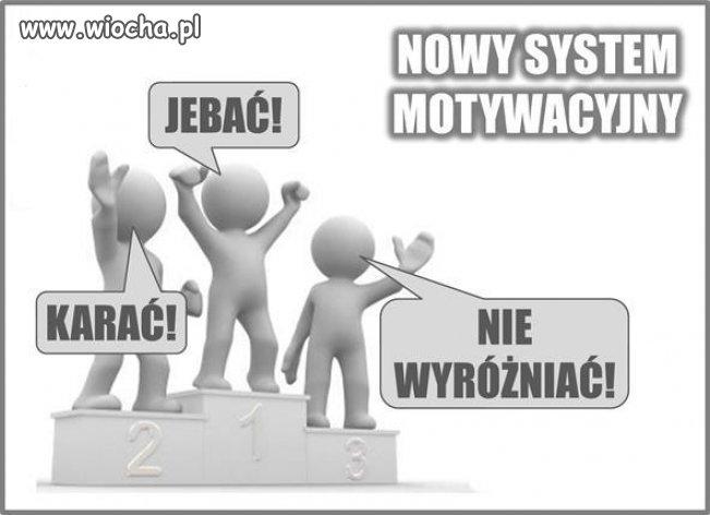 Współczesny system motywacyjny