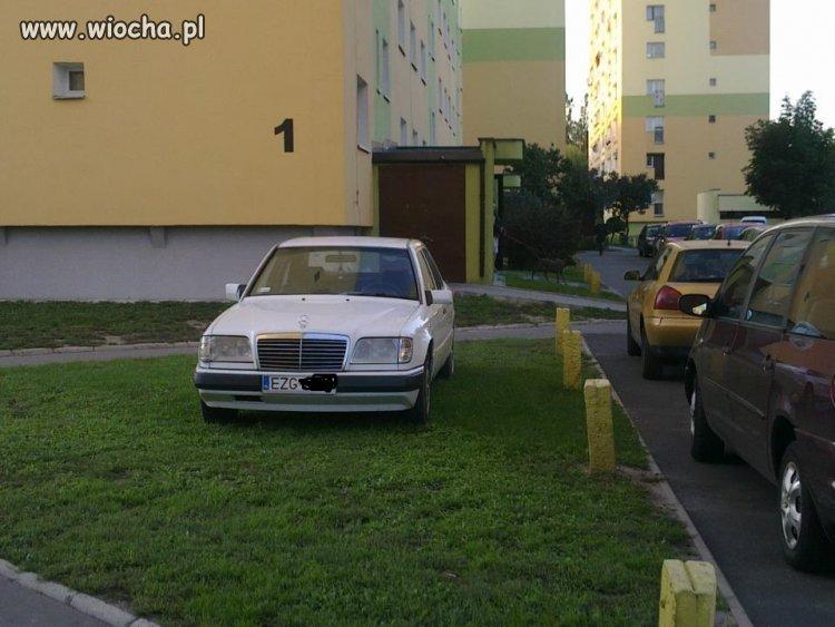 Mistrz parkowania ze Zgierza