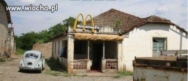 MC Donalds w czasach...
