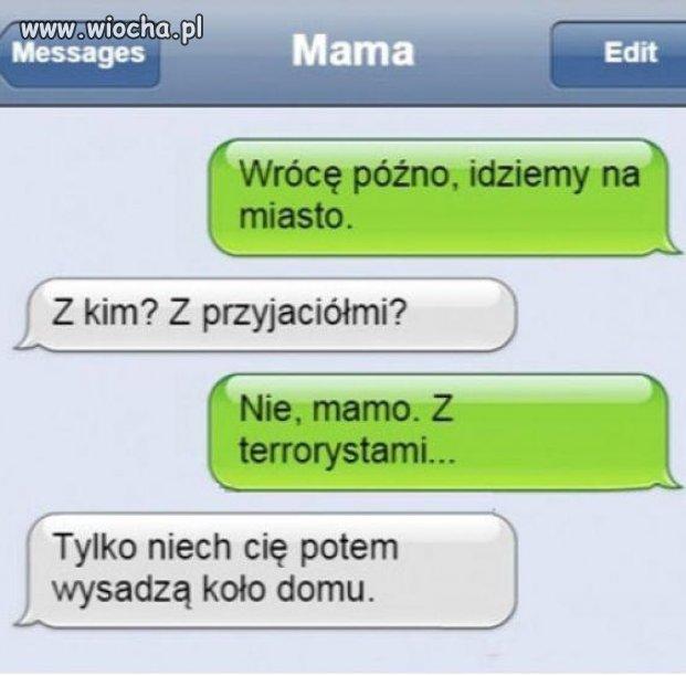 Mama i te komenty