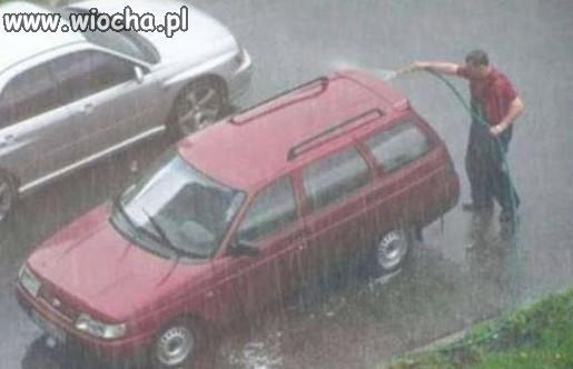 Deszcz nie deszcz...