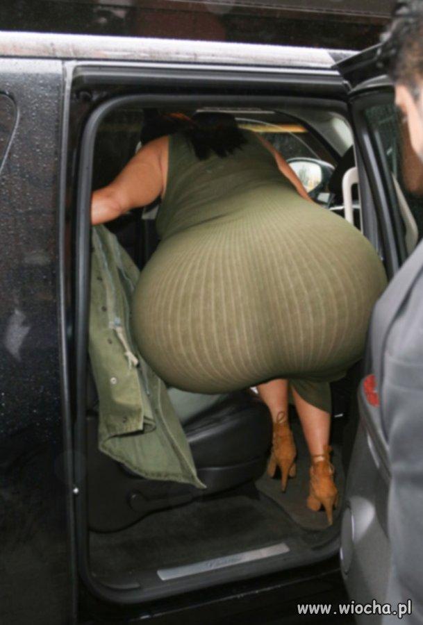 """Jej""""wielko��""""Kim Kardashian"""