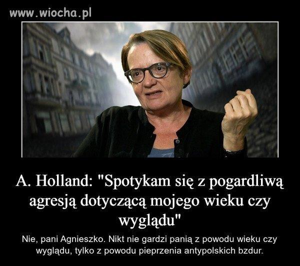 Pretensje pani Agnieszki.