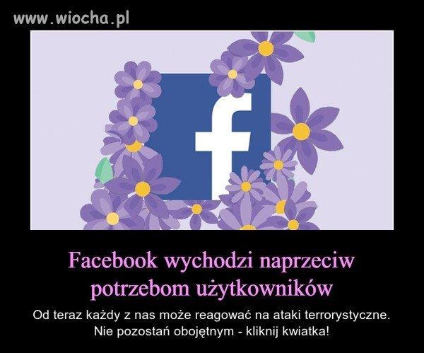 To miły gest ze strony FB