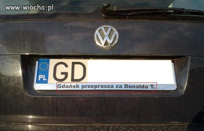 Gdańsk przeprasza za Donalda T.