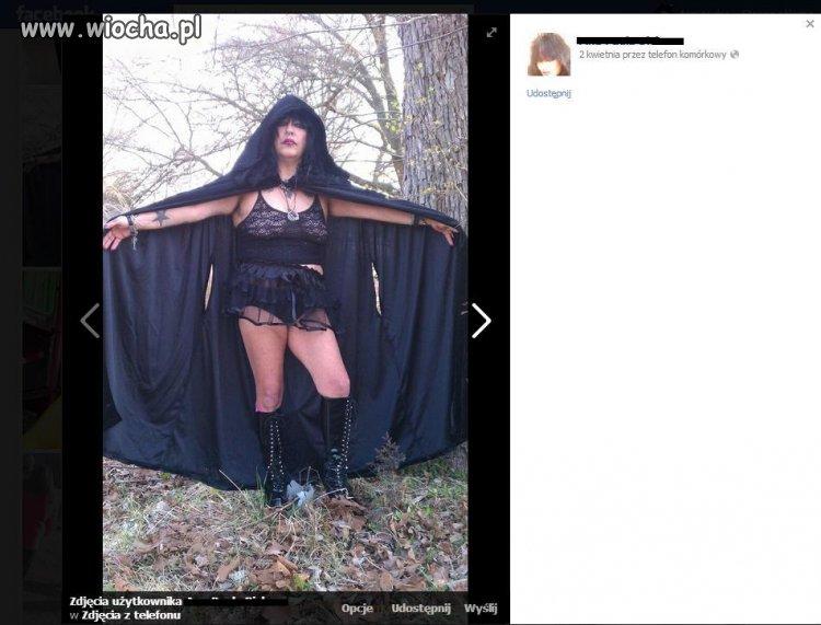 Pani znaleziona przypadkiem na facebook'u