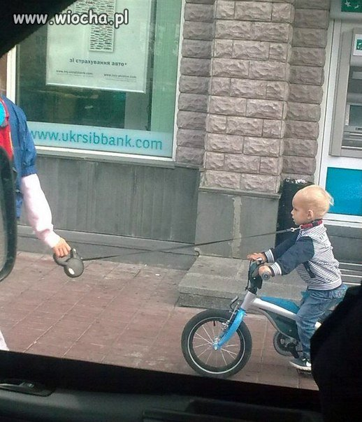 Trzeba by wyprowadzić... dziecko na spacer