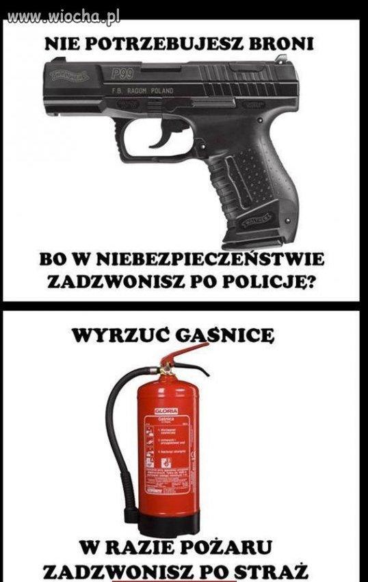 Po co nam broń