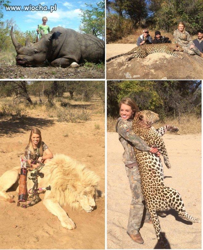 Kendall Jones. Hobby: zabijanie zwierząt