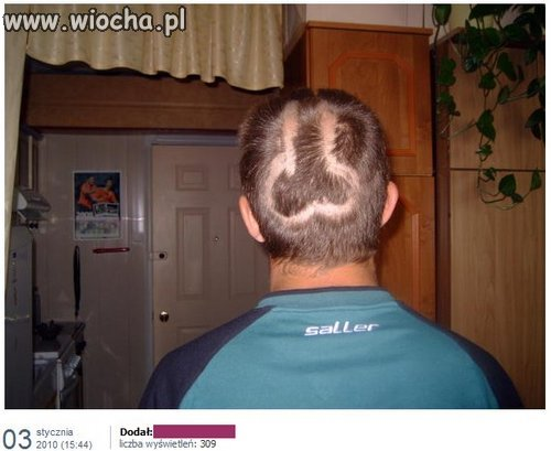 Byłem u fryzjera..