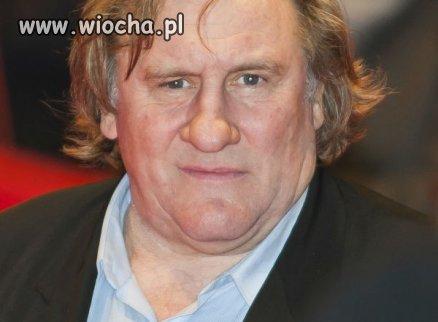 Gerard Depardieu uciekł z Rosji. Już nie chce być