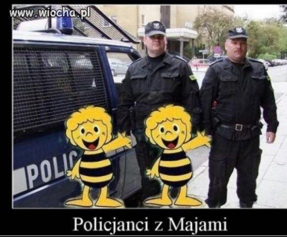 Policja z Majami