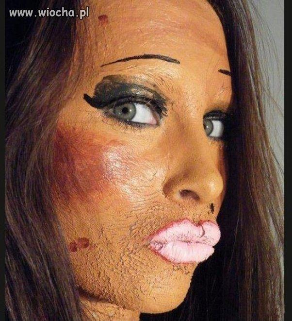 Makijaż opanowany do granic możliwości