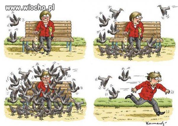 Merkel i emigranci