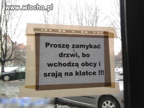 Proszę zamykać drzwi...