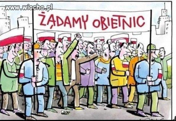 Tak widzę wybory Polaków z ostatnich 25 lat.