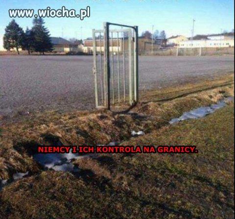 Niemiecka kontrola na granicy