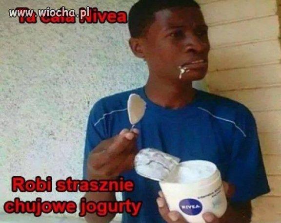 Jogurt nivea