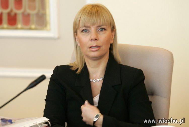 Komisarz UE Pani Bie�kowska przyzna�a si� do...
